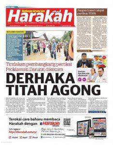 Derhaka Titah Agong